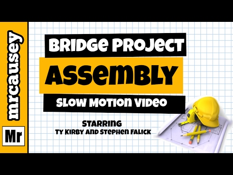 Bridge Project 2015 - Mr. Causey's Physics