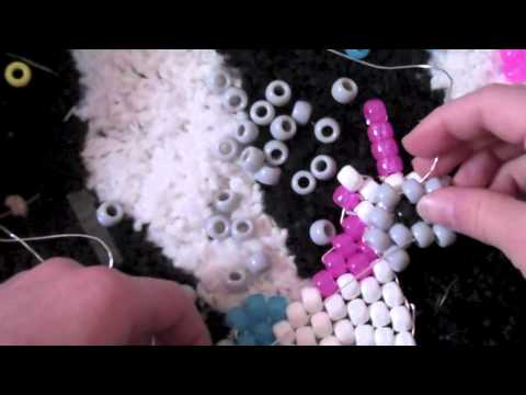 How to make kandi: Unicorn Peyote Part 1