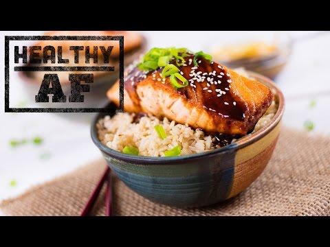 Miso glazed Salmon | Healthy AF