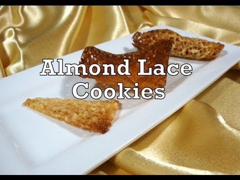 Almond Lace Cookies - 2-4-13 - The Aubergine Chef HD