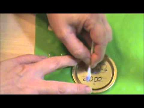 Save $$$ Permanent Ink Removal from Jars and Jar Lids Video #7