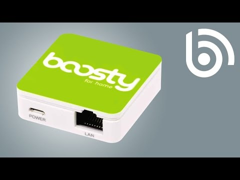 Boosty: improve your broadband with mobile bonding
