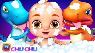 Bath Song | Let's take a Bath | ChuChu TV 3D Nursery Rhymes & Songs for Babies