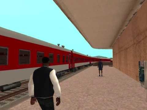 GTA SAN ANDREAS TRAINS AND STATIONS