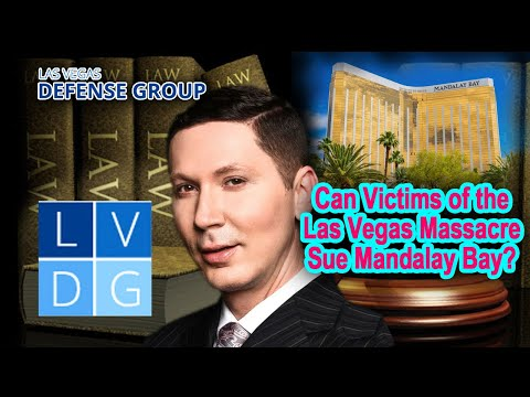Can the victims of the Las Vegas Massacre sue Mandalay Bay?