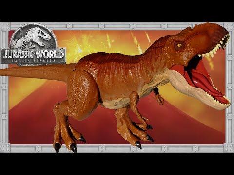 Unboxing SUPER COLOSSAL TYRANNOSAURUS REX Jurassic World Fallen Kingdom Dinosaur Action Figure Toy
