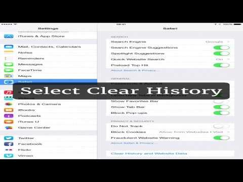 Clear Cache on iOS