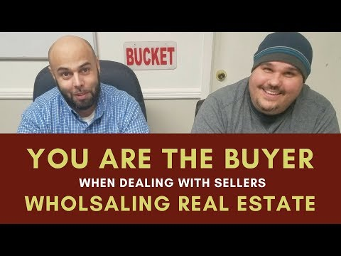 Chat with Chatto 004   Always Present Yourself as the Buyer when Wholsaling Real Estate