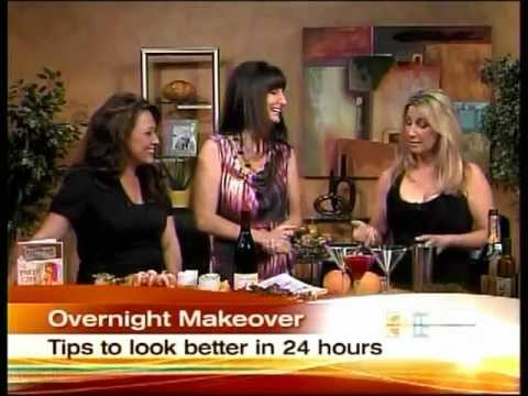 ABC 15 features Party Girl Diet's Overnight Makeover & Champagne Cocktail Live