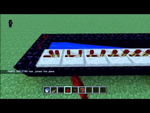 Minecraft Xbox 360: the perfect TNT cannon!- tutorial :D