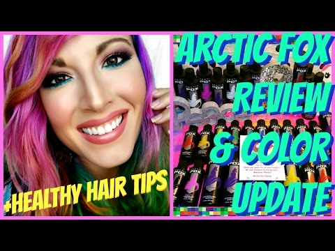 Arctic Fox Review, Update & Healthy Hair Care Tips w/ Shea Moisture! | LadyPeters