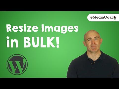 Bulk Resize Images in WordPress!