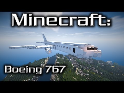 Minecraft: Boeing 767 Tutorial