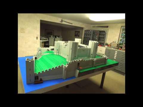 50,000 Lego bricks, six weeks, one castle - 50,000 bricsen Lego, chwe wythnos, un castell