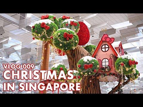 VLOG 009: SINGAPORE CHRISTMAS WONDERLAND, ORCHARD ROAD CHRISTMAS, GARDENS BY THE BAY