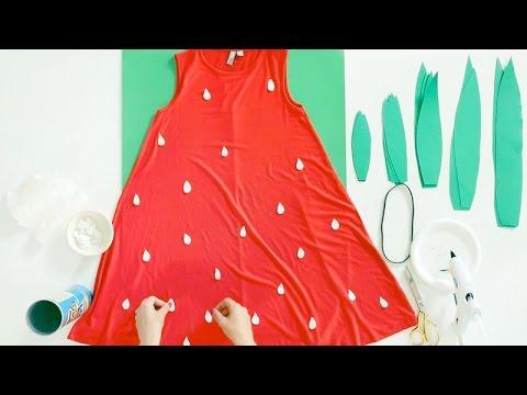 DIY Strawberry Costume with Studio DIY!