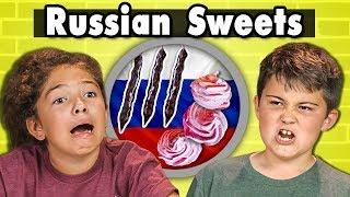 KIDS EAT RUSSIAN SWEETS | Kids Vs. Food