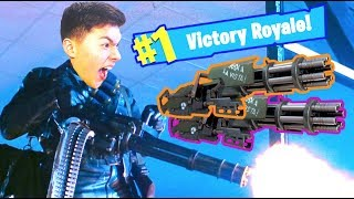 Minigun Only Challenge | #1 Victory Royale! (fortnite Battle Royale)