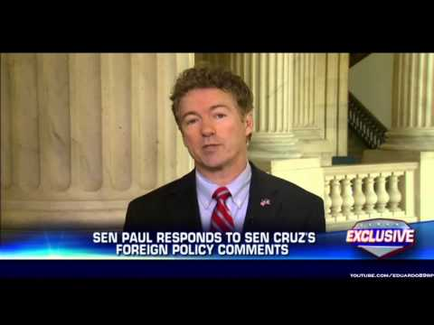 Rand Paul on Cruz: 'I'm Not Real Excited About Him Mischaracterizing My Views'