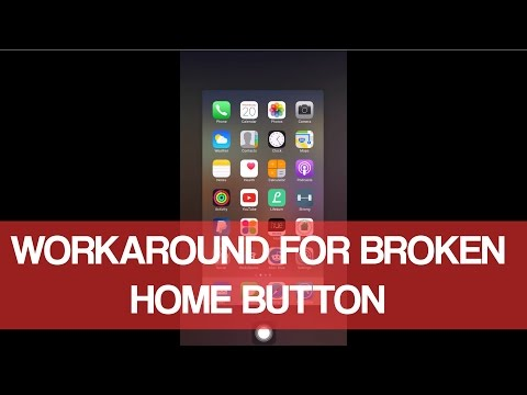 Broken Home Button On iPhone/iPod/iPad? Here Is A Workaround!