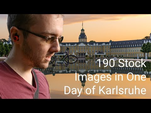 A Holiday of Stock Photography in Karlsruhe