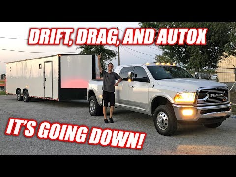 OFF TO VEGAS!!! Leroy Takes on The Hoonigans + Drift/Drag/AutoX Competition! (LS Fest West)