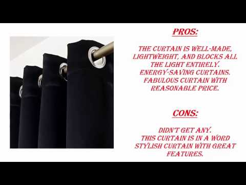 Best 5 Blackout Curtains Reviews 2017 | Top 5 Best Blackout Curtains in 2017