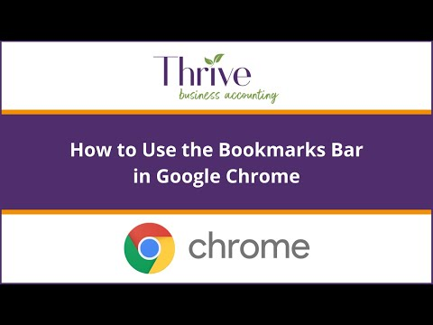 Tech Tips: Add websites to your bookmarks bar in Google Chrome