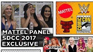 Mattel WWE Entire Panel! - SDCC 2017 - San Diego Comic Con!
