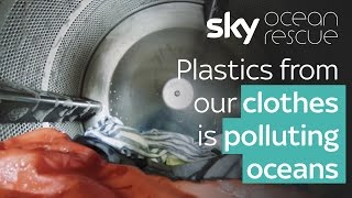 Plastics from our clothes is polluting oceans