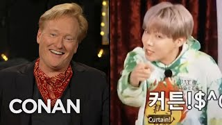 BTS Didn't Recognize Conan - CONAN on TBS