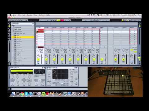 How To Make a Live Dubstep/Electro Mix With the Launchpad