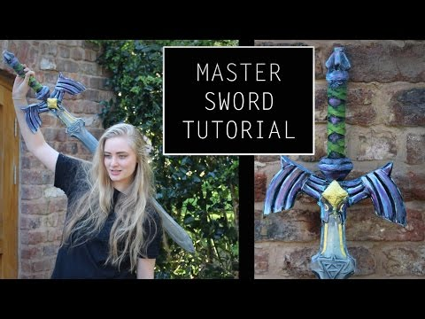 How to make the Master Sword- tutorial