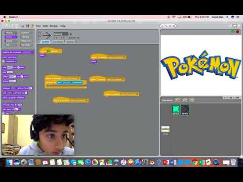 Learn Scratch - Make your Own Pokémon Game