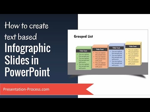 How to create text based Infographic Slides in PowerPoint