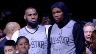 Team LeBron Introduction / Feb 17 / 2018 NBA All-Star Practice