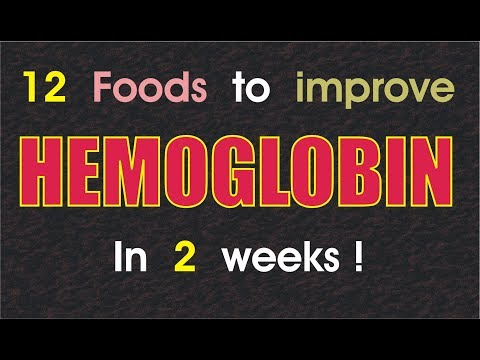 How to increase hemoglobin/blood in body :: Best foods to increase hemoglobin.