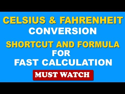 Fast Temperature Conversion Celsius To Fahrenheit And Fahrenheit To C
