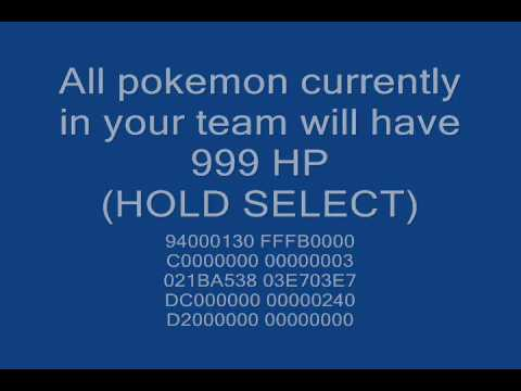 pokemon mystery dungeon gates to infinity cheats citra