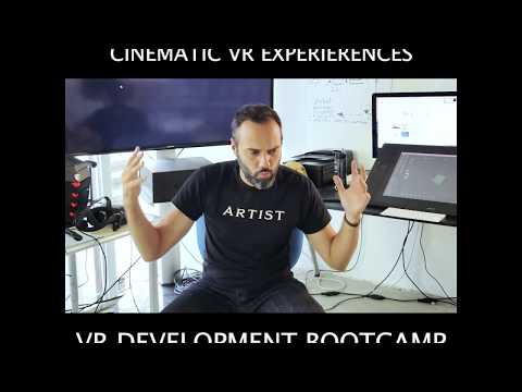 A look at a Cinematic VR Experience - VR Development Bootcamp