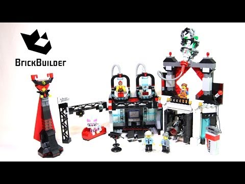 Lego Movie 70809 Lord Business' Evil Lair - Lego Speed build