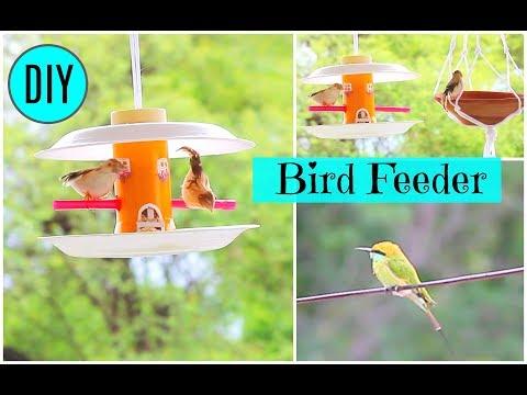 How To Make A Bird Feeder/ DIY Homemade Plastic Bottle Bird Feeder