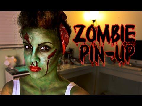 Halloween Look: Pin-Up Zombie