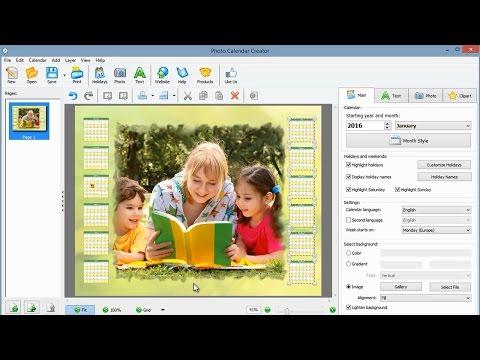 Best Calendar Design Software for Windows – Try Free Demo Version!