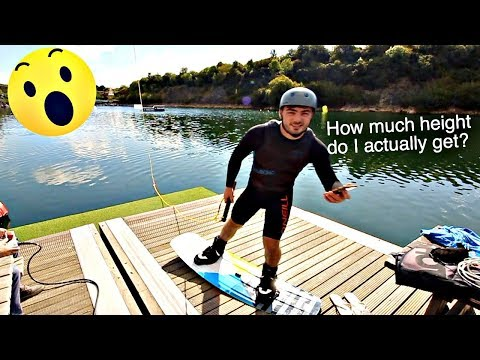 How High can I jump on a Wakeboard?!?