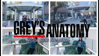 TOUR PELO HOSPITAL DE GREY'S ANATOMY + Dicas de como ir