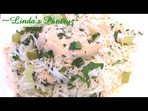 ~Cilantro Lime Chicken & Rice In The Power Pressure Cooker XL With Linda's Pantry~