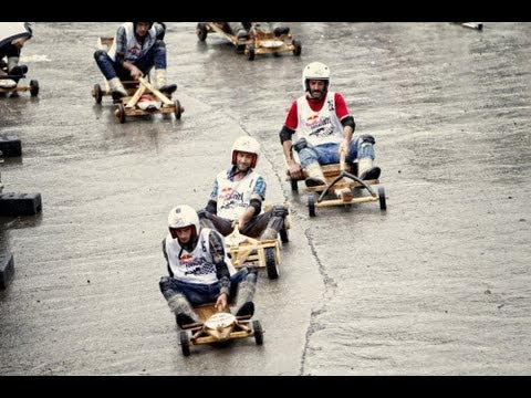 Handmade Wooden Car Race - Red Bull Formulaz 2013 Turkey