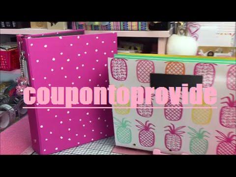Planner Binder Setup |Tutorial | DIY |Target Dollar Spot | Pineapple Print Accordion Folder