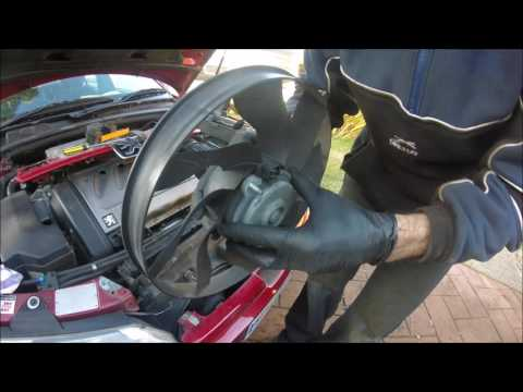 Peugeot 406 V6 3ltr - Radiator Fan Replacement